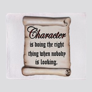 CHARACTER Throw Blanket